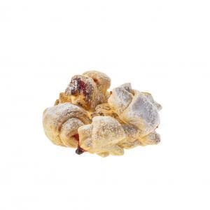 Ciasteczka francuskie znadzieniem osmaku róży