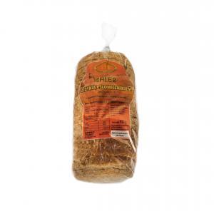 Chleb zdynią isłonecznikiem /kroj.pak./