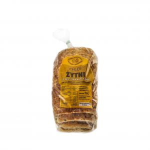 Chleb żytni znasionami lnu /kroj.pak./